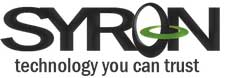 Welcome to the Syron Technology Online Shop